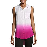 a.n.a Modern Fit Sleeveless Button-Front Women's Shirt (6 colors)