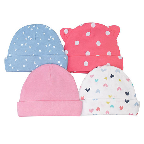 Gerber Girls 4-pc. Baby Hat-Baby - JCPenney eef8fb162f4b