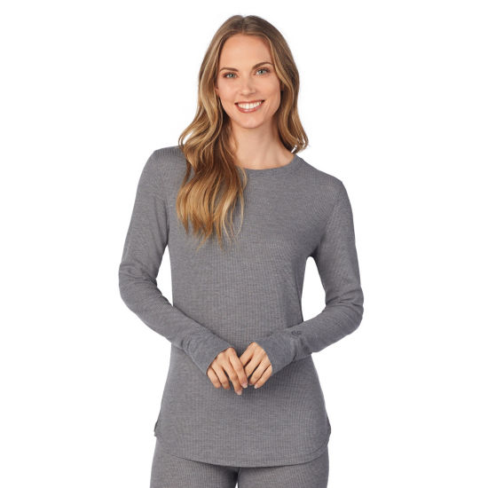 Cuddl Duds Long Sleeve Crew Neck Thermal Shirt
