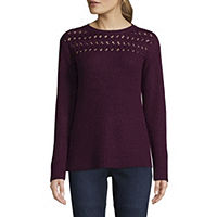 St. Johns Bay Womens Sweaters & Cardigans From $8.99 Deals