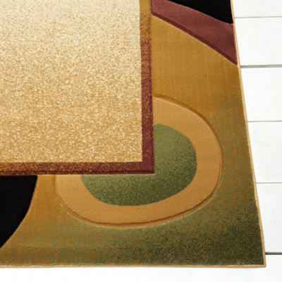 Home Dynamix Evolution Leon Abstract Rectangular Rug