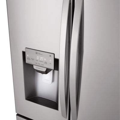 LG ENERGY STAR® 28 cu.ft. Smart Wi-Fi Enabled 4-Door French Door Refrigerator