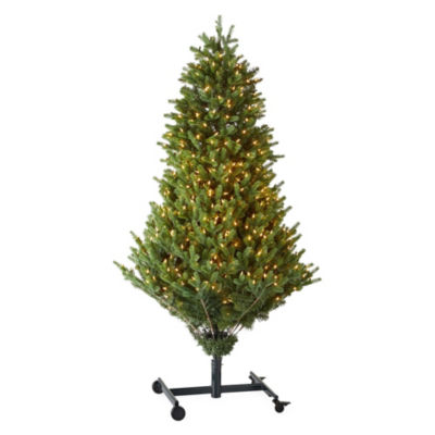 Aspen Grow And Stow Pre-Lit Christmas Tree