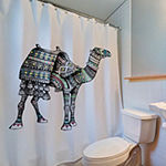 Inspired Surroundings Camel Shower Curtain