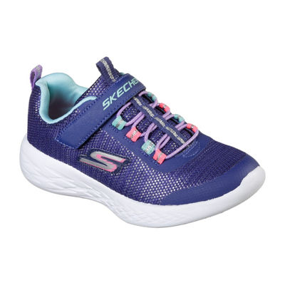 Skechers Go Run 600 Girls Walking Shoes Pull-on