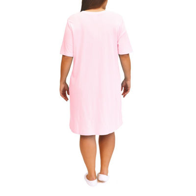 La Cera Knit Nightshirt