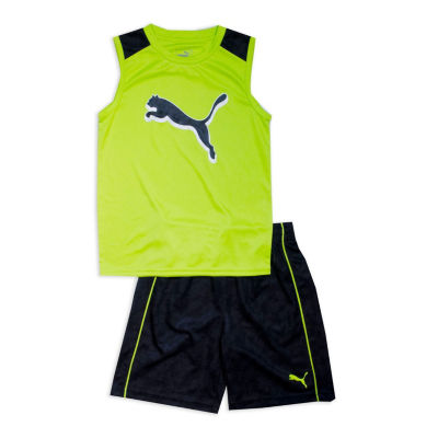 Puma Kids Apparel 2-pc. Short Set Boys