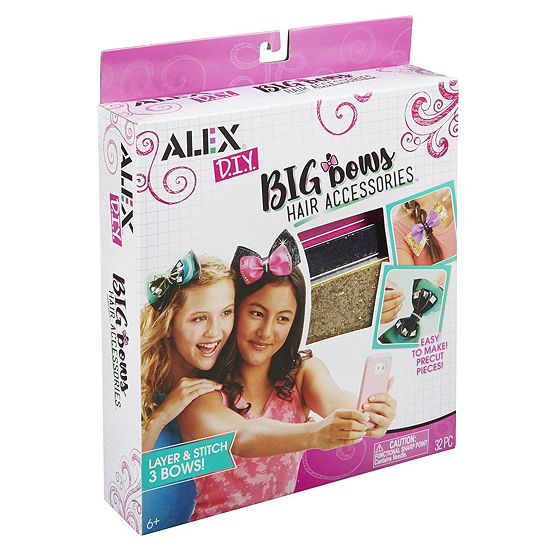 ALEX DIY Big Bow's Hair Accessories