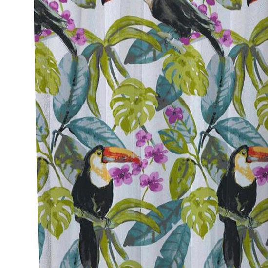 Inspired Surroundings Toucan Shower Curtain