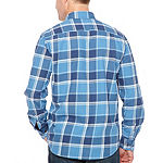 Big Mac Big Mens Long Sleeve Moisture Wicking Flannel Shirt