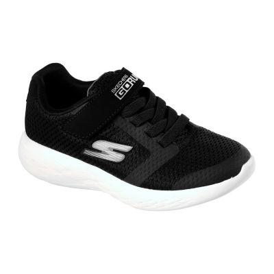 Skechers Go Run Boys Walking Shoes Pull-on - Little Kids