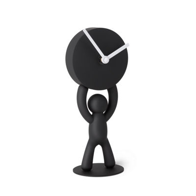 Umbra Buddy Desk Clock Black Table Clock-118510-040