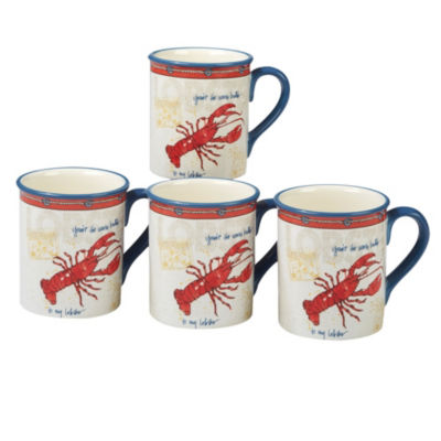 Certified International Coastal Life Coffee Mug