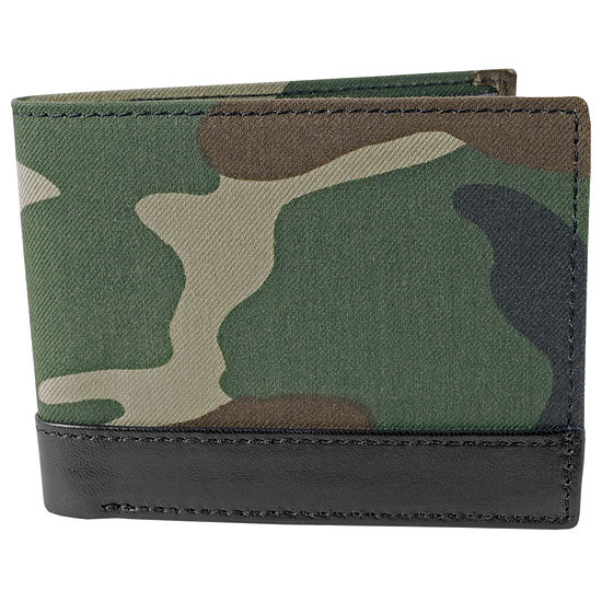 Stacy Adams® Canvas Billfold Wallet
