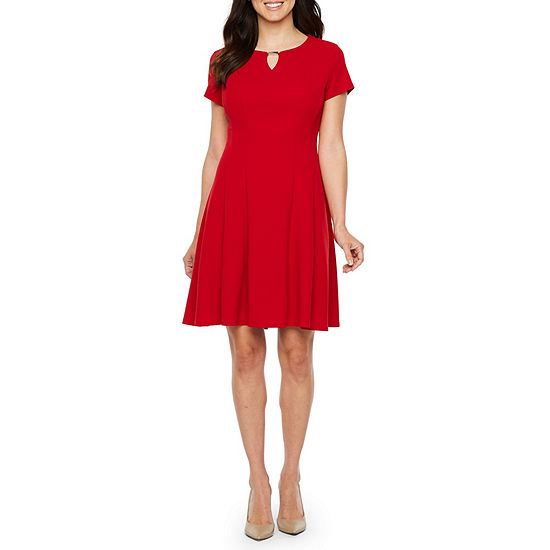 Alyx Short Sleeve Fit & Flare Dress