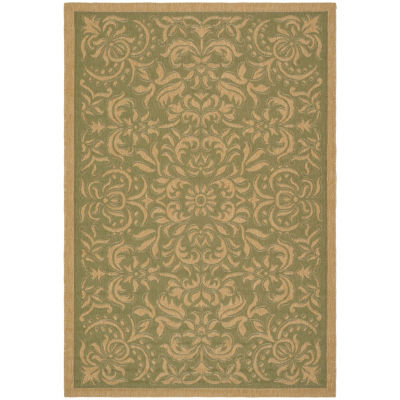 Safavieh Courtyard Collection Eleanor Oriental Indoor/Outdoor Area Rug
