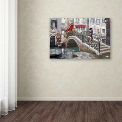Trademark Fine Art The Macneil Studio Venice Bridge Giclee Canvas Art