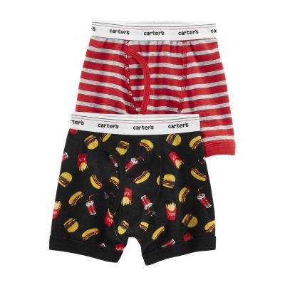 Carter's Underwear 2 Pair Boxer Briefs Preschool Boys