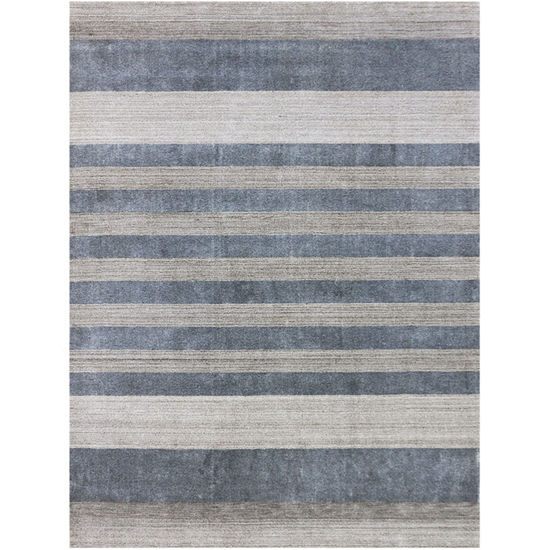Amer Rugs Blend AC Hand-Woven Wool and Viscose Rug
