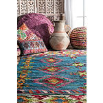 nuLoom Thayer Tassel Cotton Flatweave Area Rug
