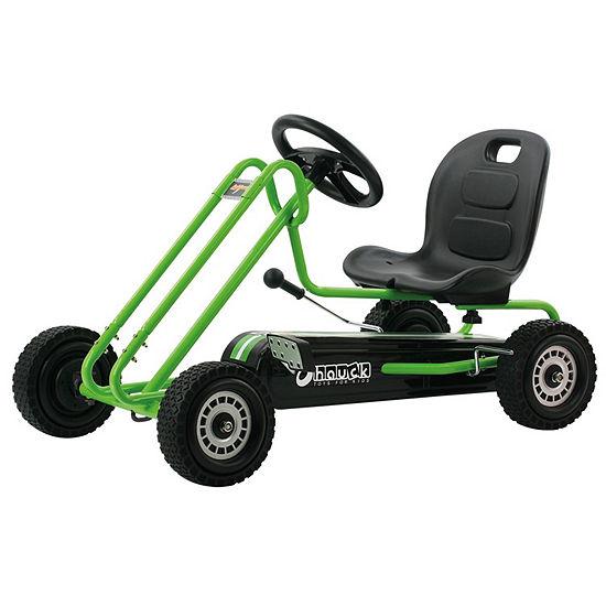 Hauck Lightning Ride-On Pedal Go-Kart Green