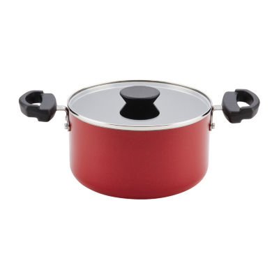 Farberware 3.5-Qt. Covered Aluminum Dishwasher Safe Non-Stick Stockpot
