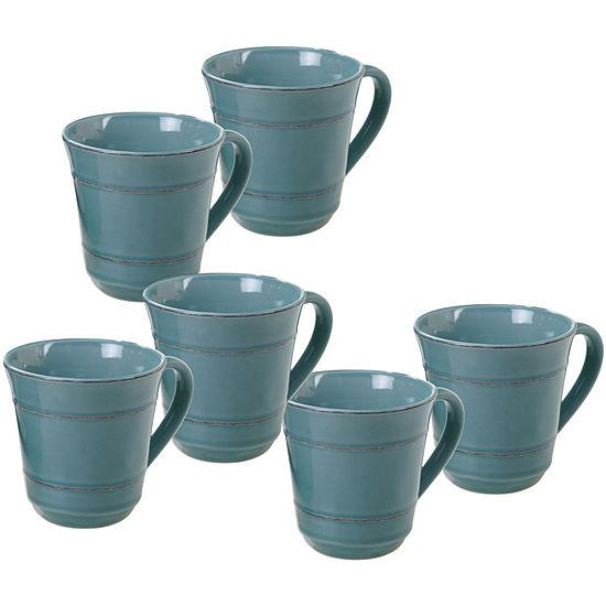 Certified International Orbit Teal Coffee Mug