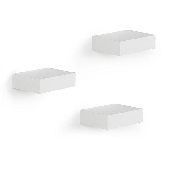 Umbra Showcase Shelves 3 White Floating Shelf