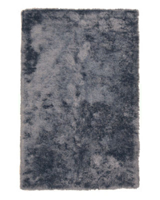 Handmade Polyester Contemporary Solid London Shag Rug