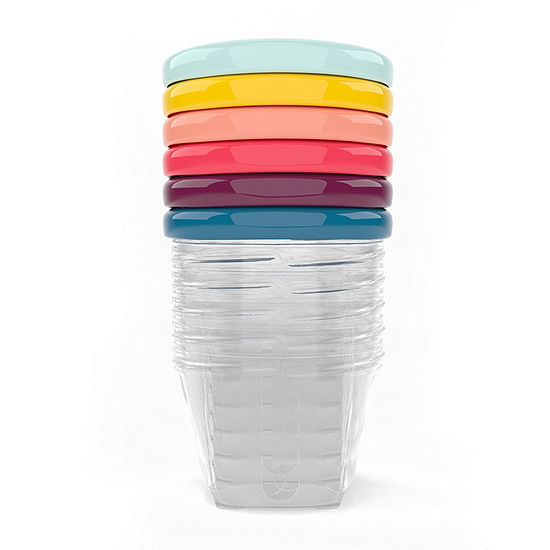 Multi Color 6-pk. 6 Oz Baby Bowls