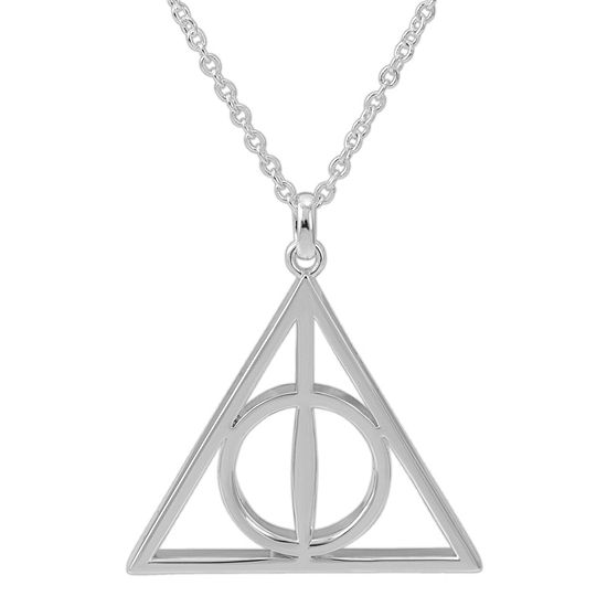 Warner Bros Deathly Hallows 18 Inch Cable Harry Potter Pendant
