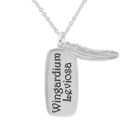 Warner Bros Wingardium Leviosa Womens Brass Pendant
