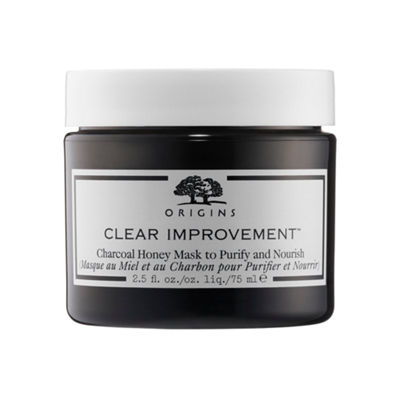 Origins Clear Improvement™ Charcoal Honey Mask to Purify and Nourish