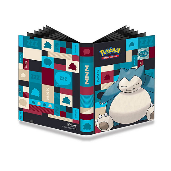 Ultra Pro 9-Pocket Pokémon Full-View Pro Binder: Snorlax