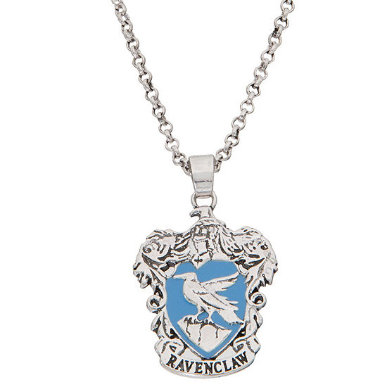 Warner Bros Ravenclaw House Crest 16 Inch Cable Harry Potter Pendant Necklace