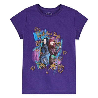 Disney Descendants Graphic T-Shirt Girls