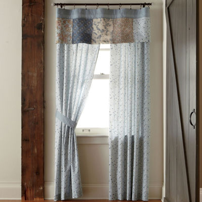 Home Expressions Fairview 2-Pack Rod-Pocket Curtain Panels