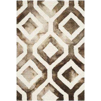 Safavieh Dip Dye Collection Lucian Geometric Area Rug