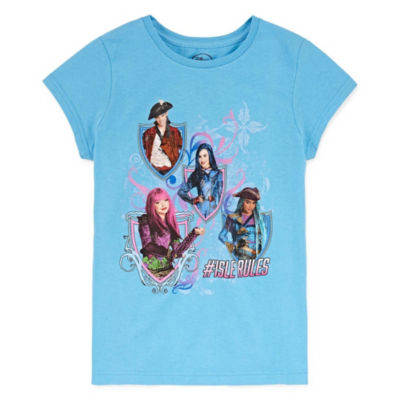 Disney Descendants Graphic T-Shirt Girls