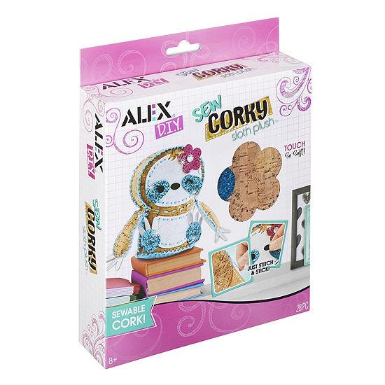 ALEX DIY Sew Corky Sloth Plush