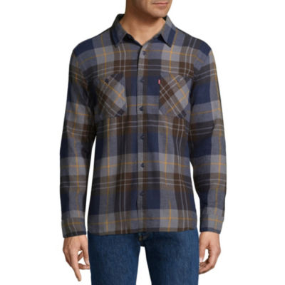 Levi's® Long Sleeve Flannel Shirt