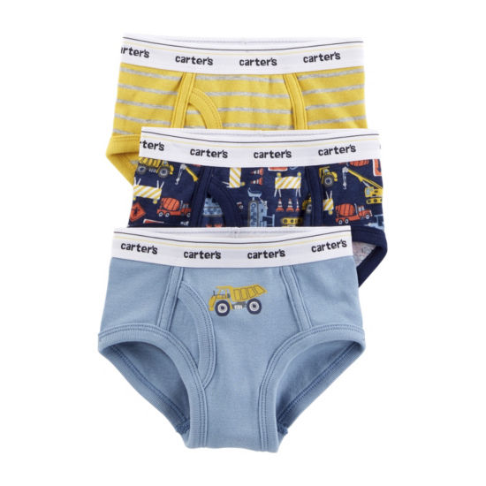 Carter's Underwear 3 Pair Briefs Boys