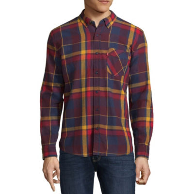 Levi's® Long Sleeve Flannel Shirt