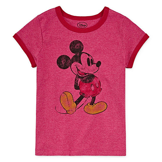 Disney Mickey Mouse Graphic T-Shirt - Kids - Girls