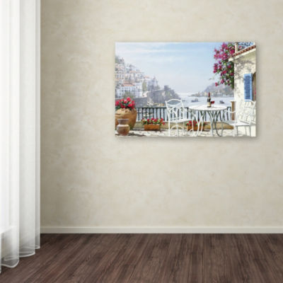 Trademark Fine Art The Macneil Studio Amalfi CoastGiclee Canvas Art