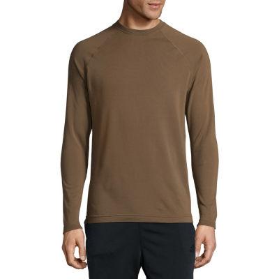 Military Fleece Crew Neck Long Sleeve Thermal Shirt Tall