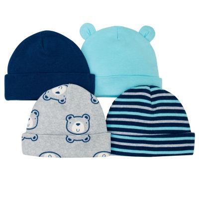 Gerber Boys 4-pc. Baby Hat-Baby