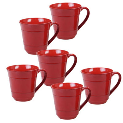 Certified International Orbit Red Coffee Mug
