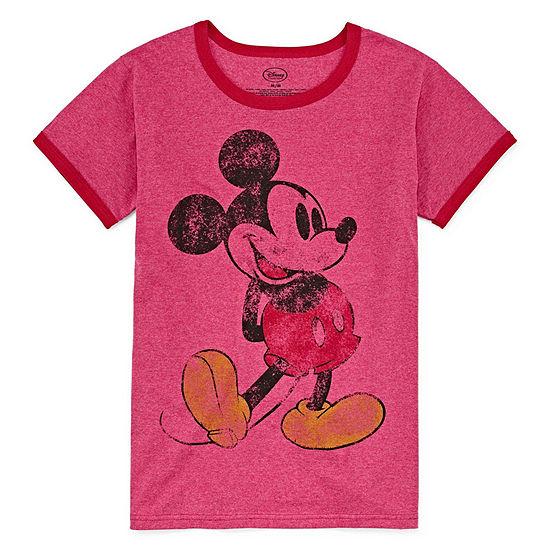 Disney Mickey Graphic T-Shirt Womens