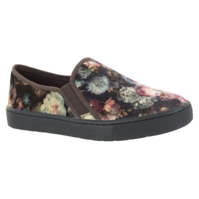 Easy Street Womens Plaza Slip-On Shoes Slip-on Round Toe